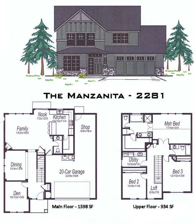 The Manzanita 2281 Sq Ft