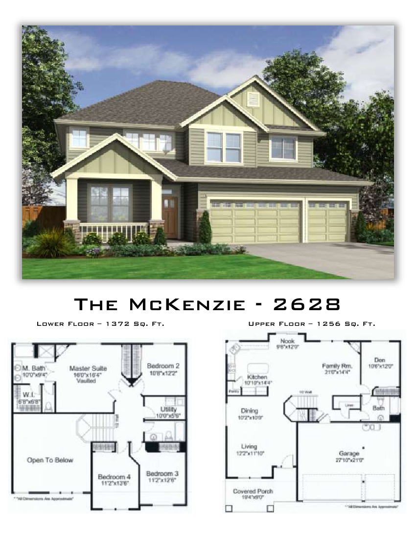 The Mckenzie 2628 Sq Ft